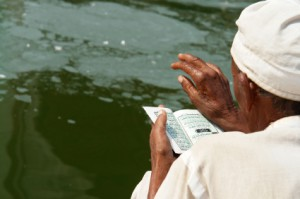 "Picture credit: © 2007 Narvikk, ""Reading the Quran"", http://www.oc-photo.net, via iStockphoto."